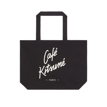 Tote Bag Cafe Kitsune Black U