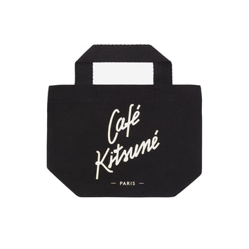 Mini Tote Cafe Kitsune Black U