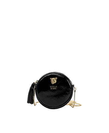 Black Tiger Circle Mini Bag