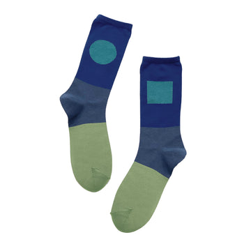 Socks One Pair Man Blue OS