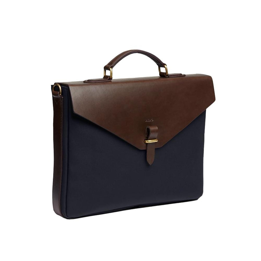 MS Bureau Navy / Dark Brown