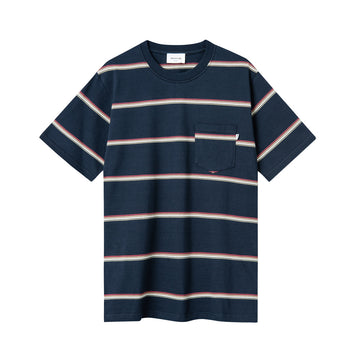 Bobby Stripe T-Shirt Navy Stripes