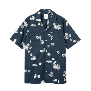 Brandon Graphic Shirt SS Blue Aop