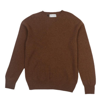 Seamless Cneck Sweater Caramel