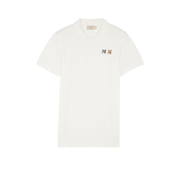 Polo Double Fox Head Patch Latte (Unisex)