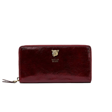 Burgundy Tiger Wallet