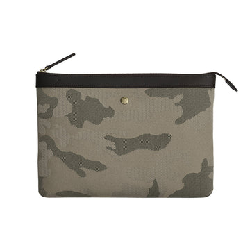 MS Pouch Large Sage Camo/Dark Brown
