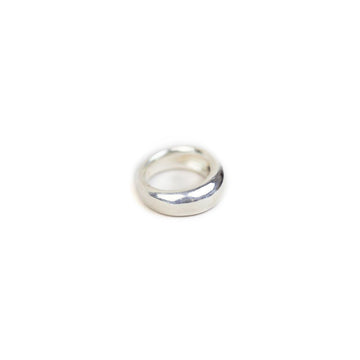 Candice Ring Thick Band Sterling Silver