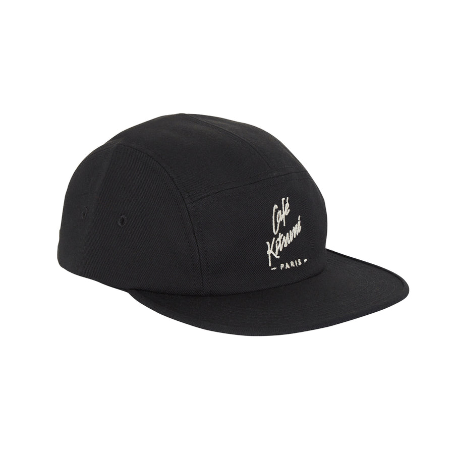 Cafe Kitsune Cap 5P New Shape Black U