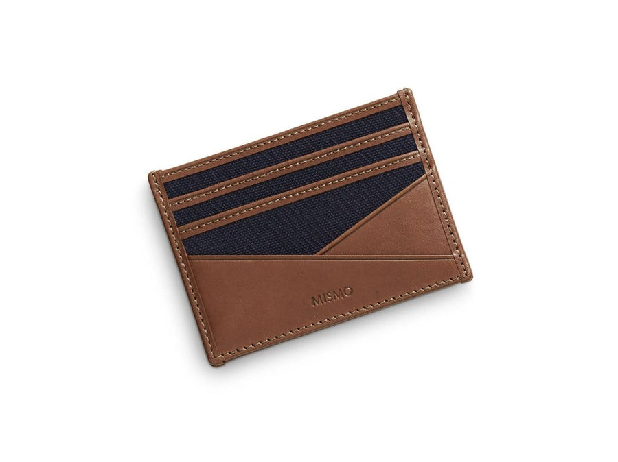 MS Cardholder Midnight Blue / Cuoio