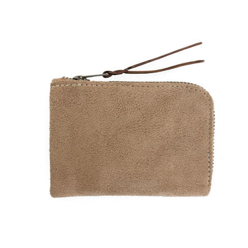 Carry Goods Zip Slim Wallet Khaki