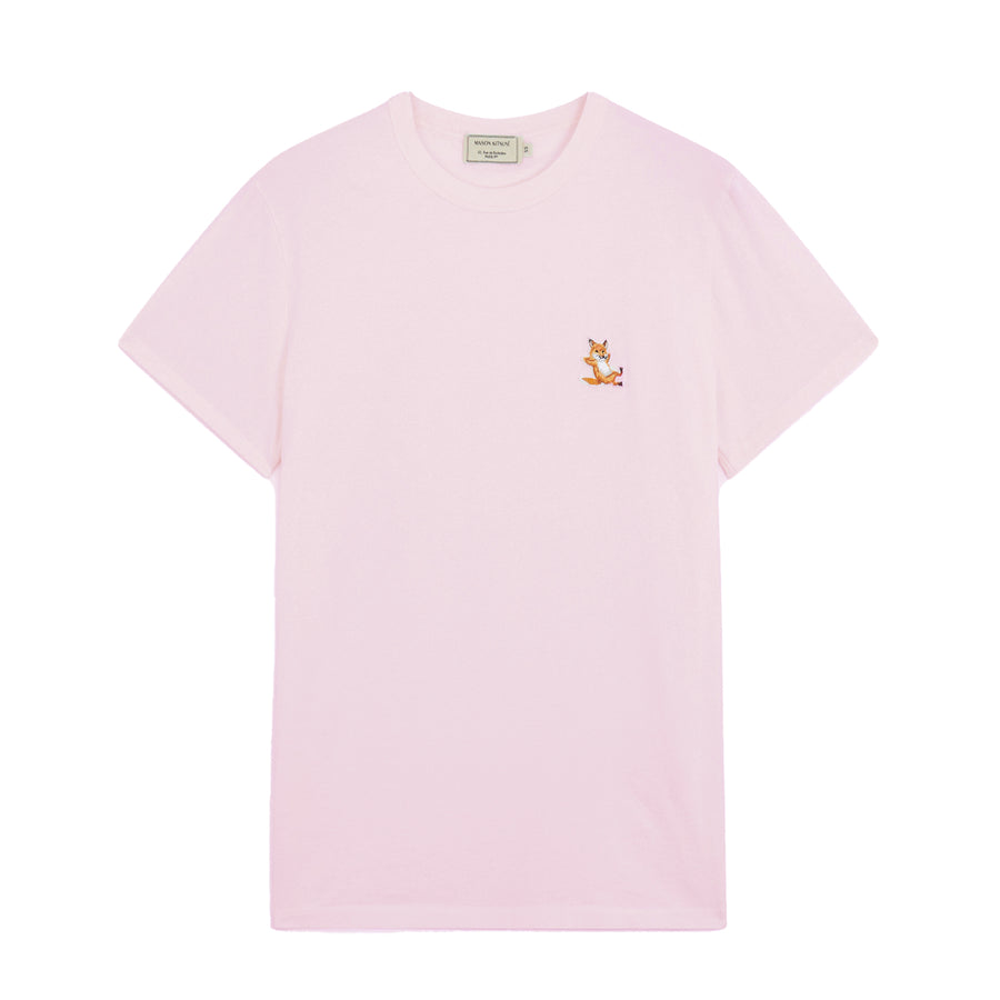 Tee-Shirt Chillax Fox Patch Classic Light Pink (unisex)