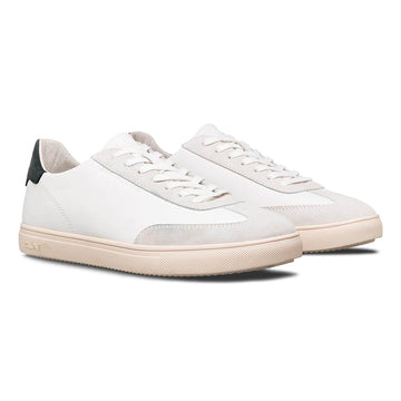 Deane White Leather Black (men)