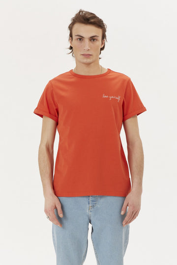 Classic Tee Lose Yourself Poppy Red