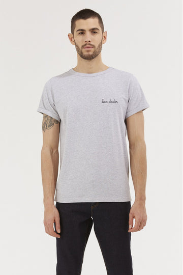 Classic Tee Love Dealer Light Heather Grey
