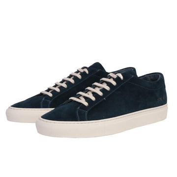 Achilles Low Suede Glassa Sole Navy (Men)