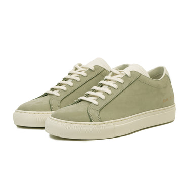 Achilles Low in Nubuck 6056 Olive (women)