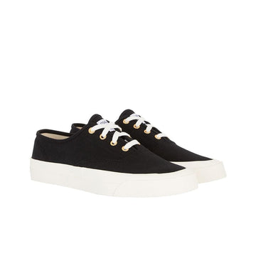 Sneaker Canvas Laced Black (Men)