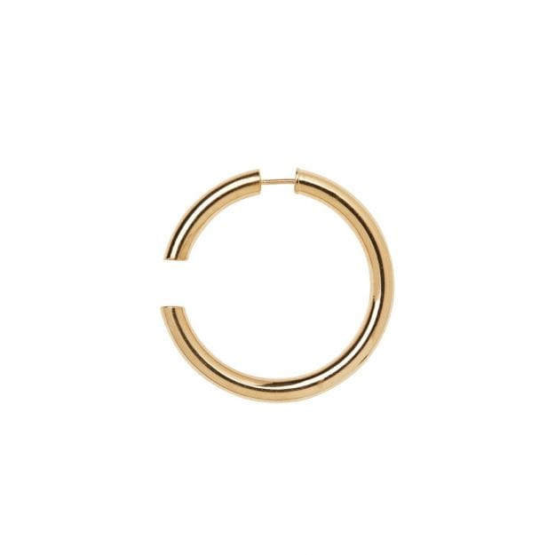 Disrupted 40 Earring HIGH POLISHED GOLD