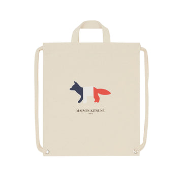 Tote Backpack Tricolor Fox Ecru U