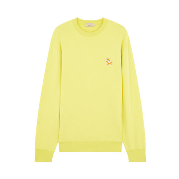 Sweatshirt Chillax Fox Regular Fit Lemon (Women)