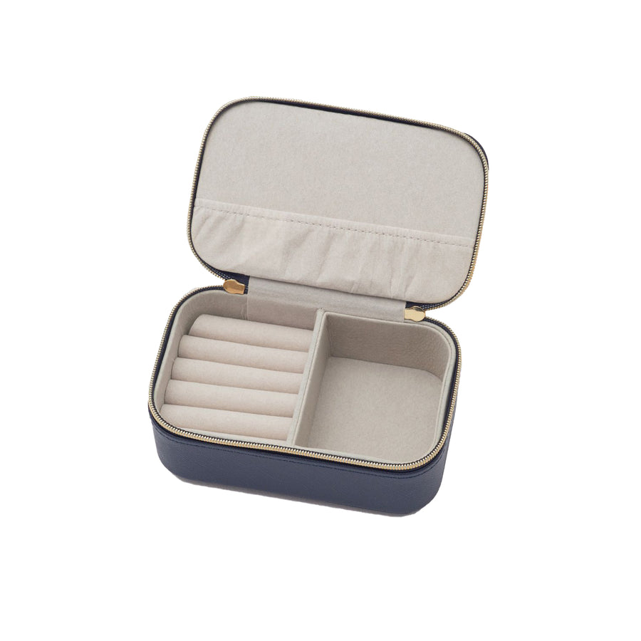 Mini Jewellery Box Nvy w Nvy Applique - Eye