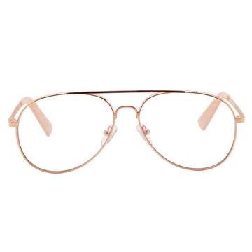 Glasses The Fart Of The Eel Rose Gold
