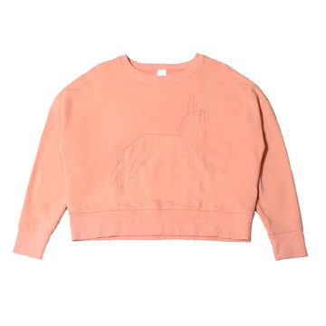 merce sweatshirt salmon