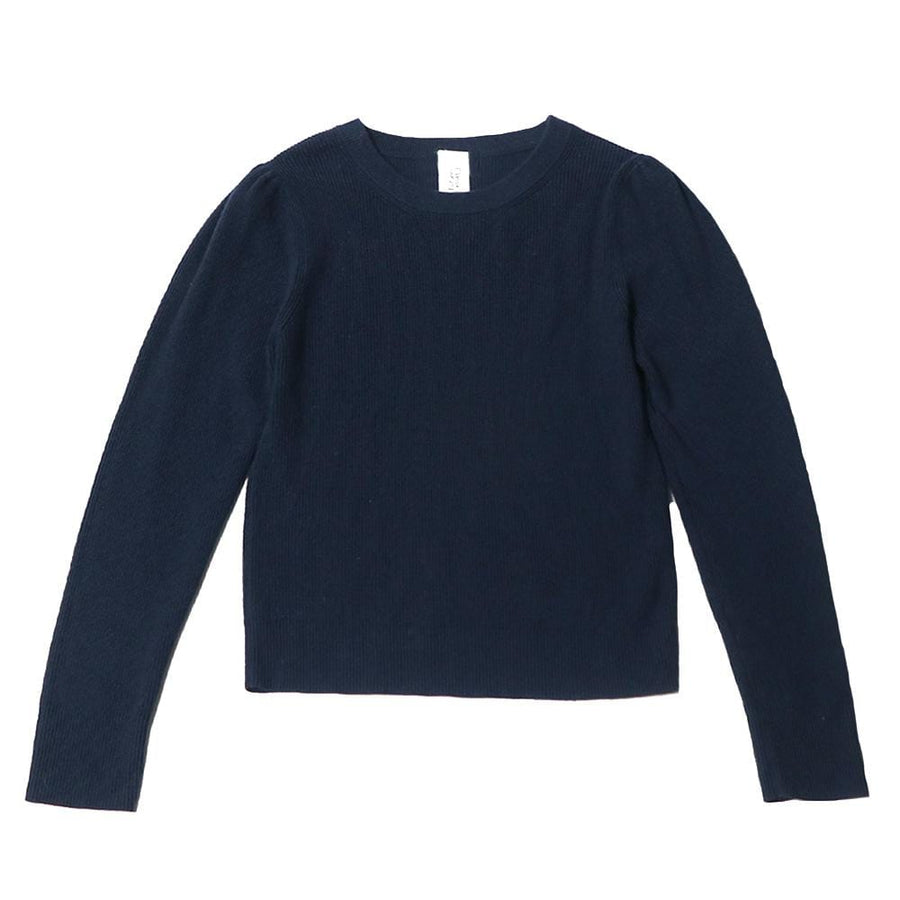 ninette balloon sleeve knit navy