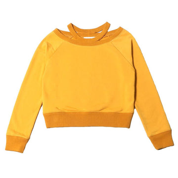 odile sweatshirt honey gold