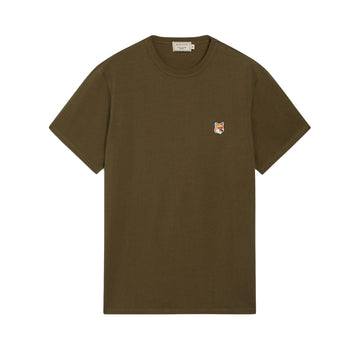 Tee-Shirt Fox Head Patch Khaki (Men)