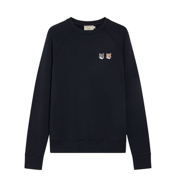 Sweatshirt Double Fox Head Patch Anthracite (Men)