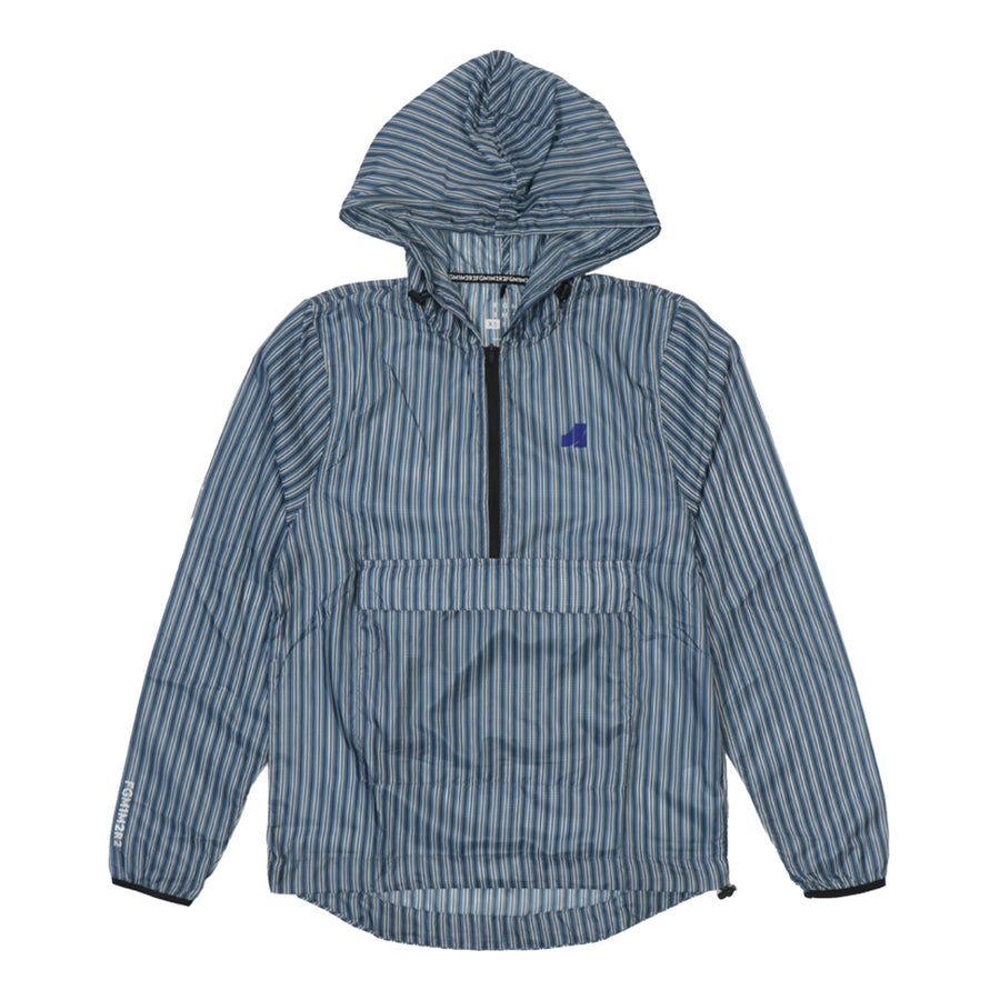 Zinc Unisex Anorak Striped Blue Horizon (Unisex)