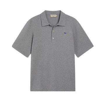 Polo Embroidery Fox Grey Melange (Unisex)