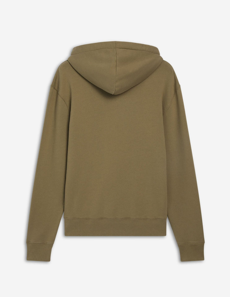 Hoodie Fox Head Patch Light Khaki (unisex)