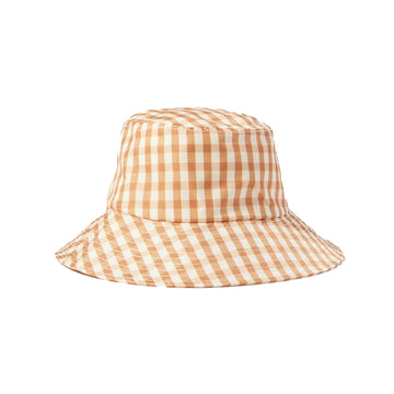 Ivy Bucket Hat Amber Gingham OS