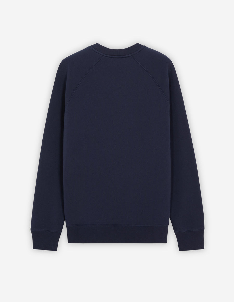 Grey Fox Head Patch Classic Sweatshirt Navy (men)