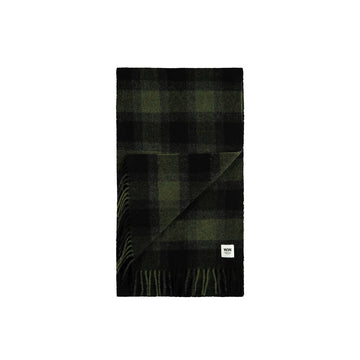 Wood Wood Karlo Scarf Green Check OS