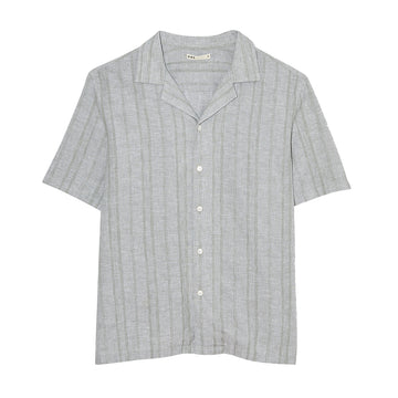 SS Shirt Rockaway Lightweight Jacquard Light Green