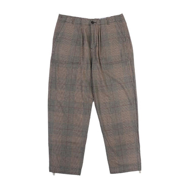 Garbstore Ruffle Trouser Check