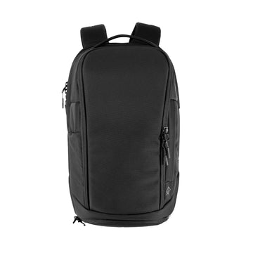 Gym+Work Backpack Black Ballistic / Yellow
