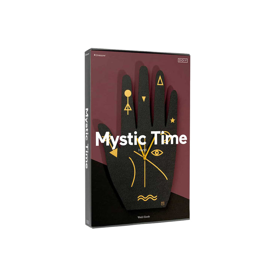 Wall Clock Mystic Time Hand