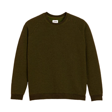 Terry Sweatshirt Dark Khaki