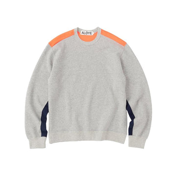 Color Blocks Sweatshirt HeatherGray