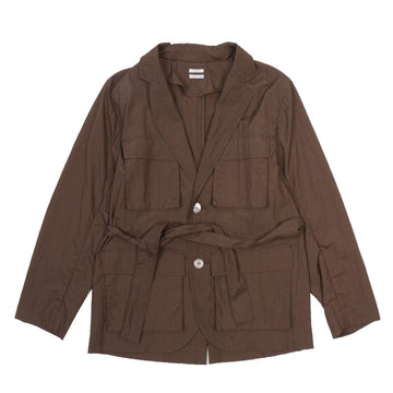 Four Pocket Jacket Dark Brown