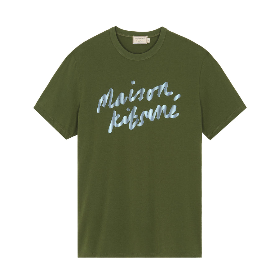 Tee-Shirt Handwriting Classic Khaki (men)