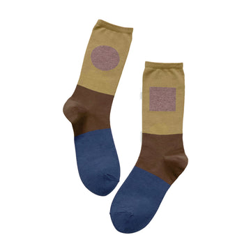 Socks One Pair Man Khaki OS