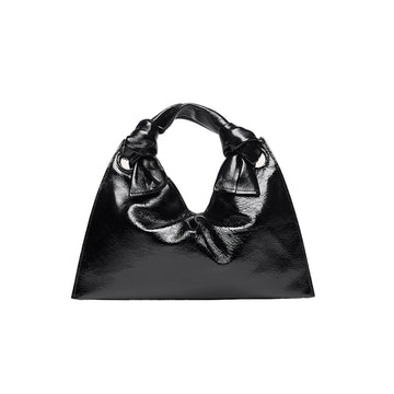 Knot Evening Bag Naplak Calf Leather Black
