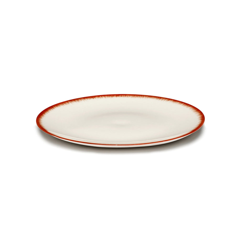 Plate Dé Off-White/Red Var 2 Large