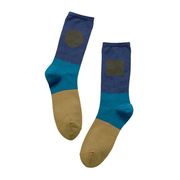 6:25am Socks One Pair Man Light Blue OS
